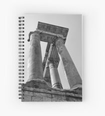 Temple of Saturn, Rome, Italy Spiral Notebook