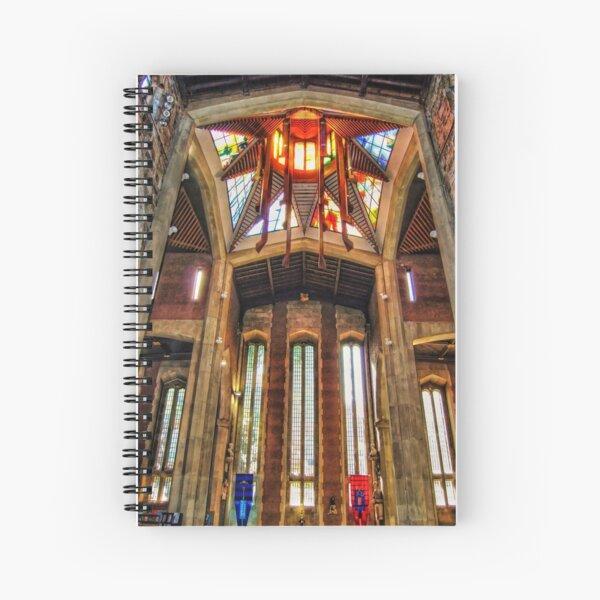 Sheffield Cathedral Lantern Tower Spiral Notebook