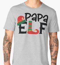 Elf Family Christmas Shirt, Papa Elf Men's Premium T-Shirt