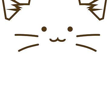 Cat Face by rabbitbunnies