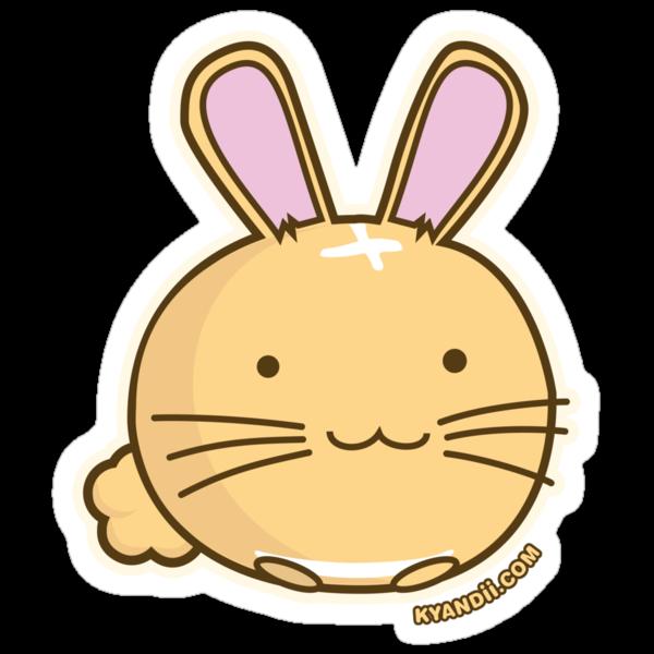 Fuzzballs Bunny by rabbitbunnies