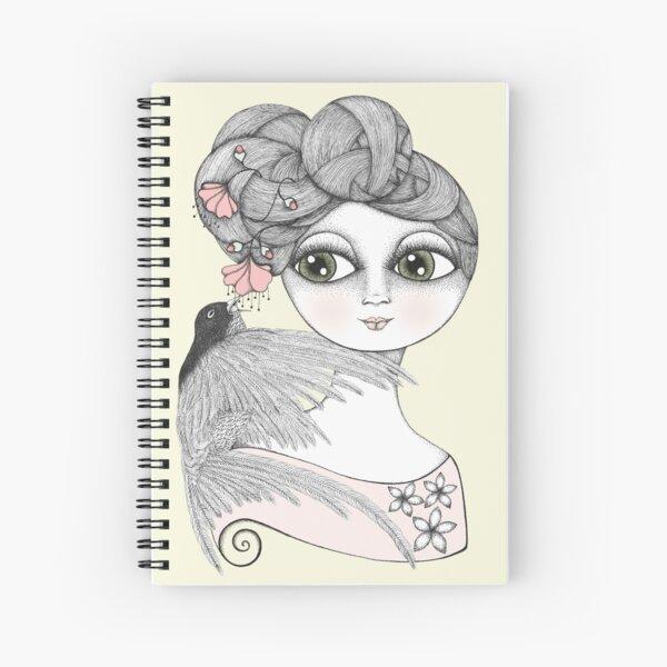 Whisper tweet nothings Spiral Notebook