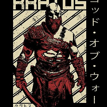Kratos Diagonal God of War - Video Game Shirt by mzethner