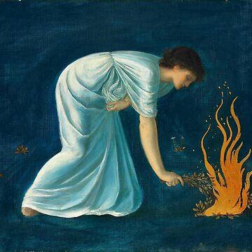 """Edward Burne-Jones """"Hero"""" by ALD1"""