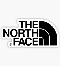 The North Face Products Sticker