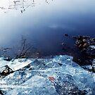The icy Monastery Lake by Imi Koetz