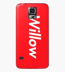 Hello My Name Is Willow Name Tag Case/Skin for Samsung Galaxy