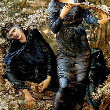 """Edward Burne-Jones """"Merlin"""" by ALD1"""