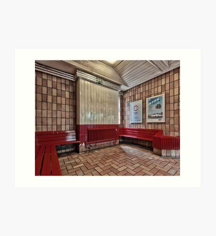 Chorleywood Tube Station Art Print