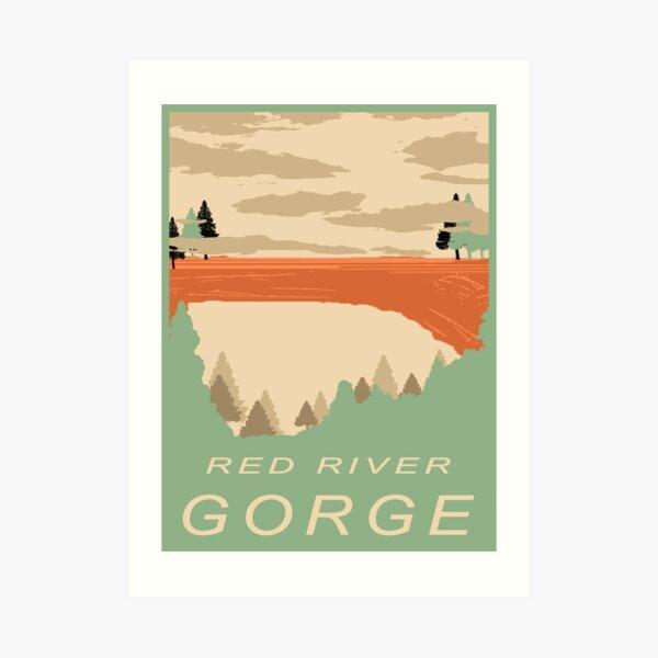 Red River Gorge Art Print