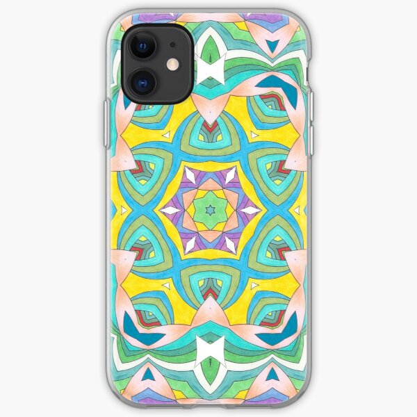 Colors and Bows Fall Into Winter Design Collection at Green Bee Mee iPhone Soft Case