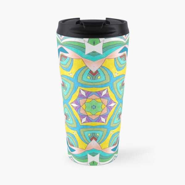 Colors and Bows Fall Into Winter Design Collection at Green Bee Mee Travel Mug