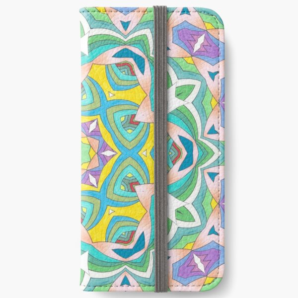 Colors and Bows Fall Into Winter Design Collection at Green Bee Mee iPhone Wallet