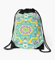Colors and Bows Fall Into Winter Design Collection at Green Bee Mee Drawstring Bag