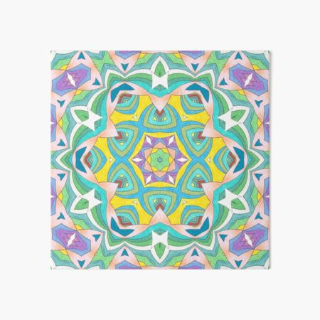 Colors and Bows Fall Into Winter Design Collection at Green Bee Mee Art Board Print