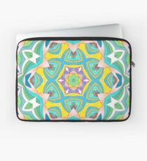 Colors and Bows Fall Into Winter Design Collection at Green Bee Mee Laptop Sleeve