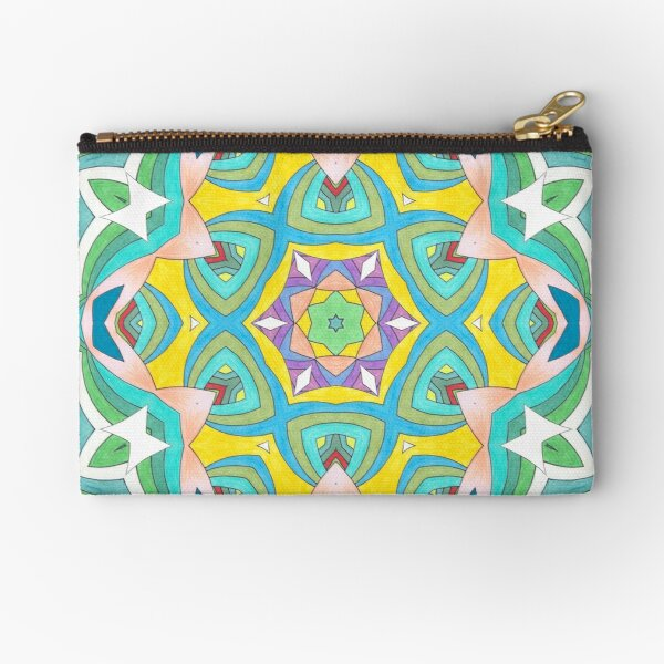 Colors and Bows Fall Into Winter Design Collection at Green Bee Mee Zipper Pouch