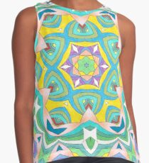 Colors and Bows Fall Into Winter Design Collection at Green Bee Mee Contrast Tank