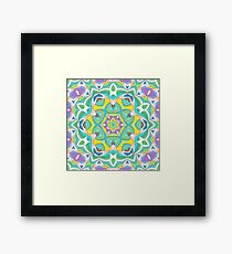 Colors and Bows Fall Into Winter Design Collection at Green Bee Mee Framed Print