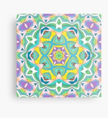 Colors and Bows Fall Into Winter Design Collection at Green Bee Mee Metal Print