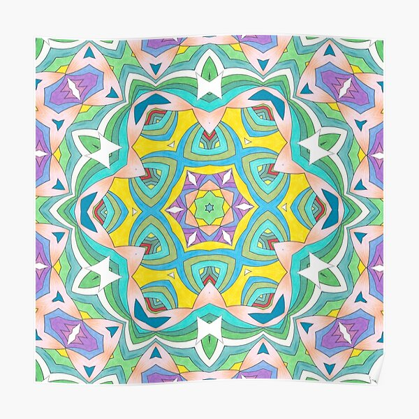 Colors and Bows Fall Into Winter Design Collection at Green Bee Mee Poster