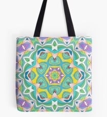 Colors and Bows Fall Into Winter Design Collection at Green Bee Mee Tote Bag