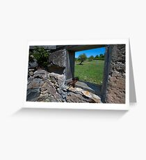 Homestead on South Manitou Island Greeting Card
