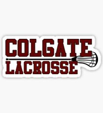 Colgate Lacrosse Sticker