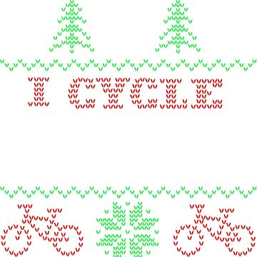 I Cycle in the Snow, Funny Ugly Cycling Christmas Sweater by Adik