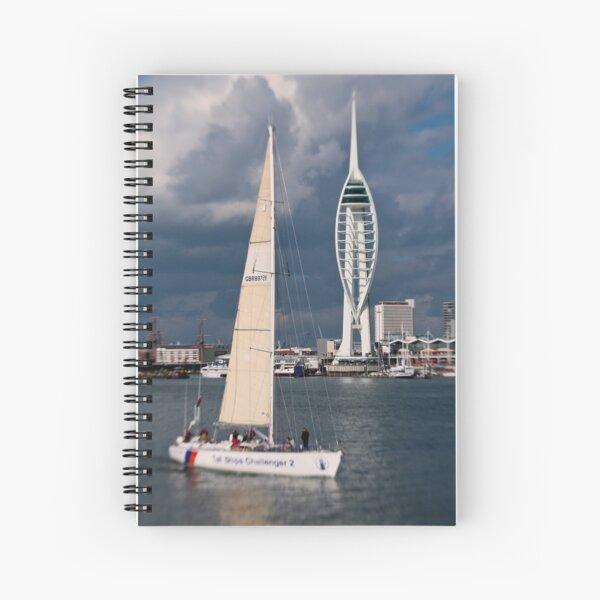Challenger 2 Spiral Notebook