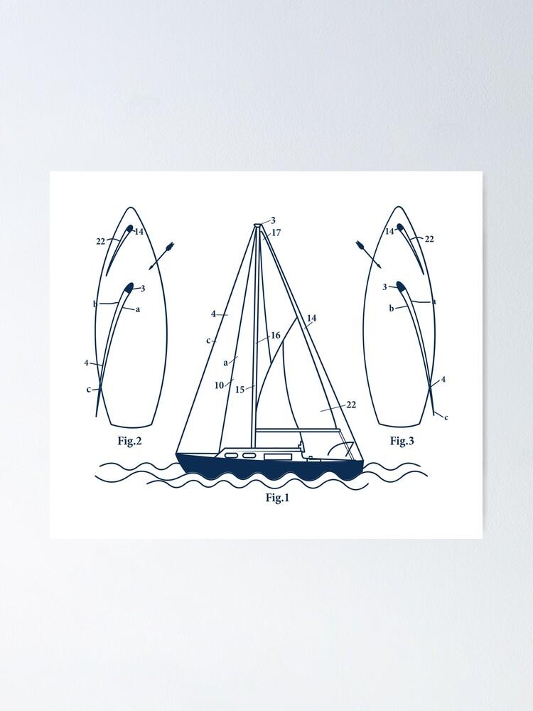 Capsized Sailing Kids Childrens T-Shirt Funny tee TShirt