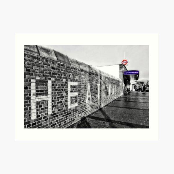 Dagenham Heathway Tube Station Art Print