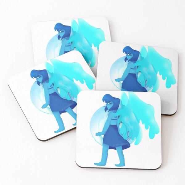 Lapis Lazuli Coasters (Set of 4)