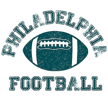 Philadelphia Distressed Pro Football Team by maxhater