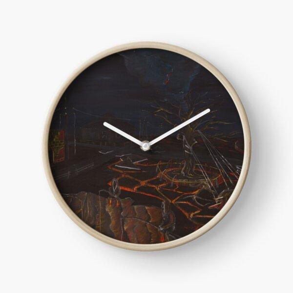 Lava Fishers Clock