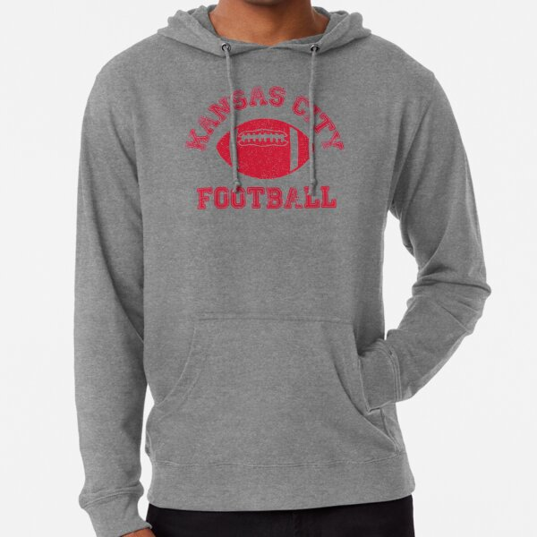 Kansas City Distressed Pro Football Team Lightweight Hoodie