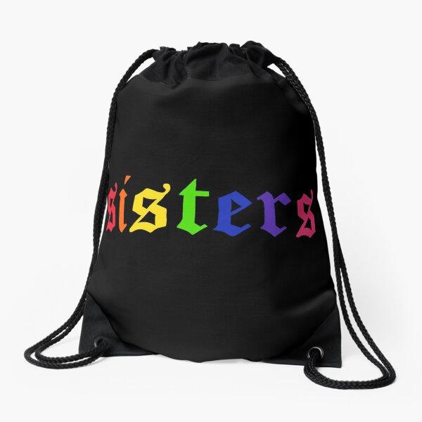 James Charles - Rainbow Sisters (Schwarz) Turnbeutel