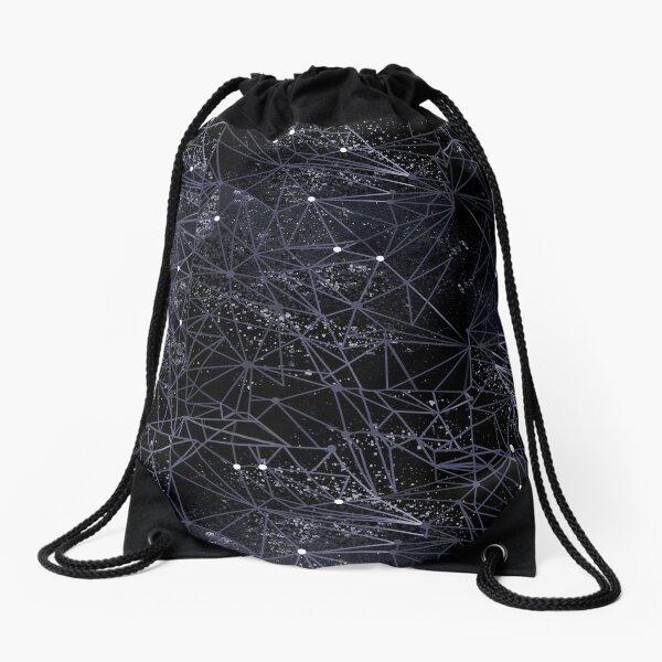 geometry of space Drawstring Bag