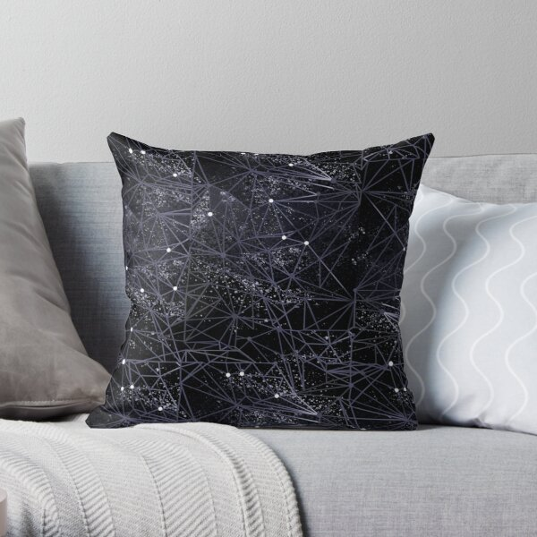 geometry of space Throw Pillow