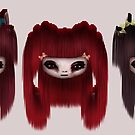 Little Scary Dolls by gina1881996