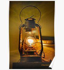 An Old Lantern Poster