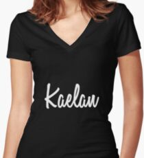 Hey Kaelan buy this now Women's Fitted V-Neck T-Shirt