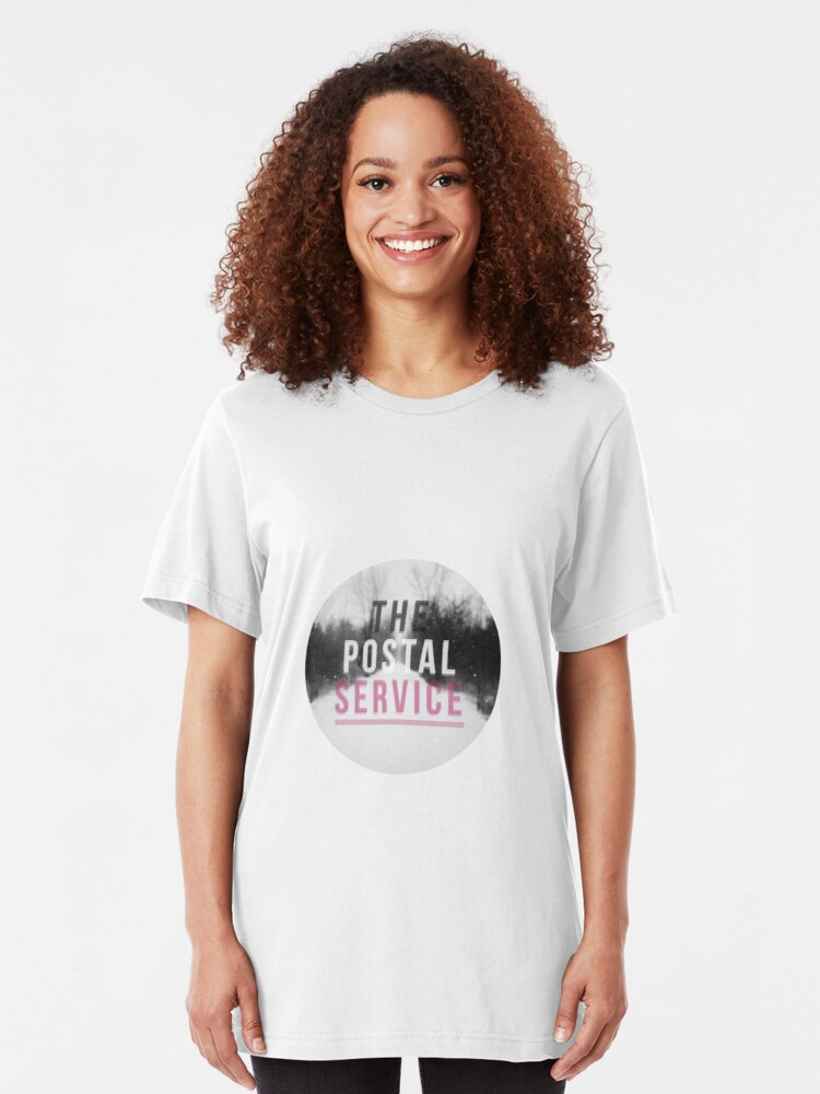 The Postal Service T Shirt Give Up T Shirt By Creativethemes1 Redbubble