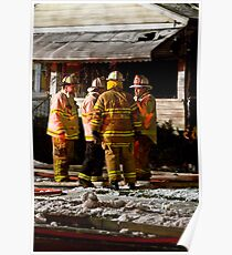 Fireman meeting Poster