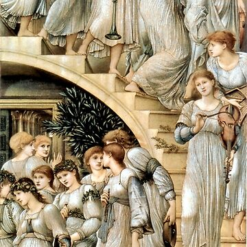 """Edward Burne-Jones """"The Golden Stairs"""" by ALD1"""