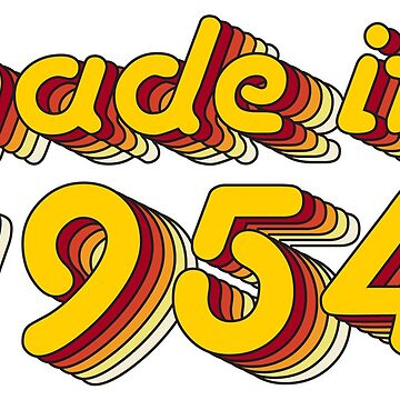 Made in 1954 (Yellow&Red) by ipiapacs