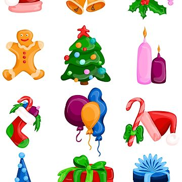 Christmas icons by lisenok