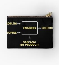 Engineering Sarcasm By-product Studio Pouch