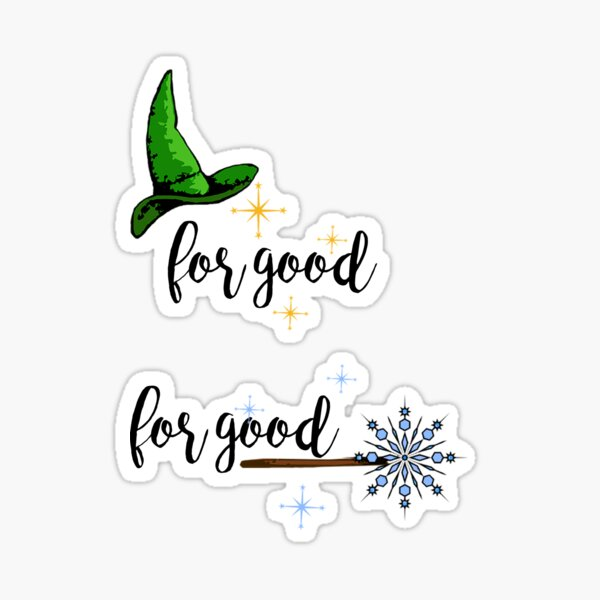 For Good - Couple Sticker