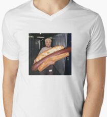 guy fieri and his wieney V-Neck T-Shirt